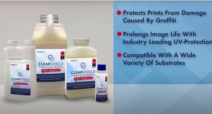 Marabu Introduces ClearShield Anti-Graffiti Liquid Coating Protection