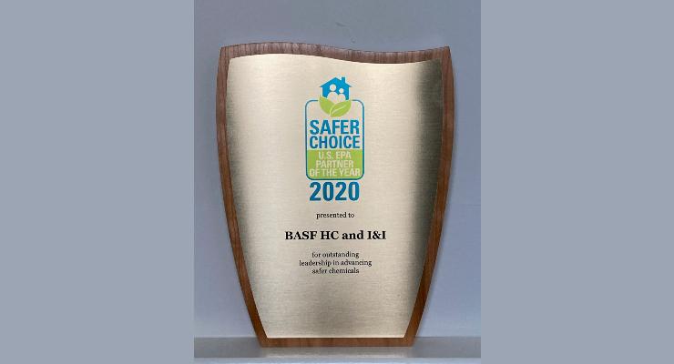 BASF Earns Safer Choice Award
