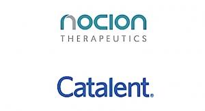 Catalent Provides Mfg. Support for Nocion Program