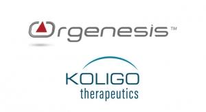 Orgenesis to Acquire Koglio Therapeutics