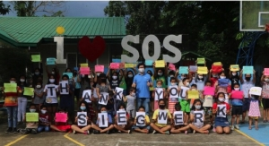 Siegwerk Increases Donation to SOS Children