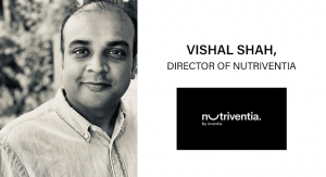 An Interview with Vishal Shah, Director of Nutriventia (a brand of Inventia Healthcare Limited)
