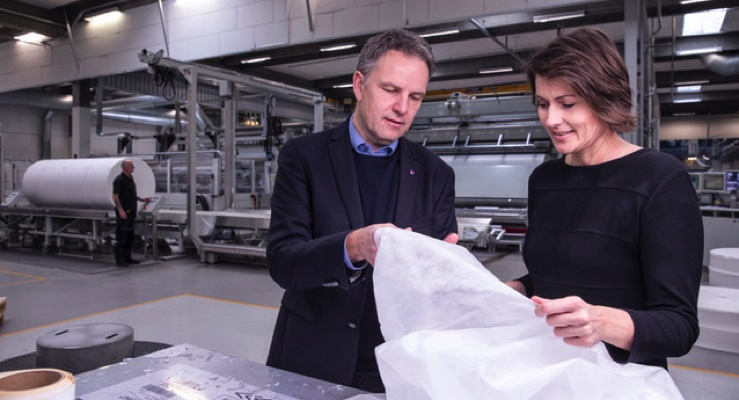 Sabic, Fibertex Personal Care Partner to Make Recycled Nonwoven