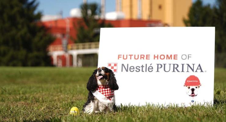 Nestlé Opens Purina Pet Care Factory in North Carolina