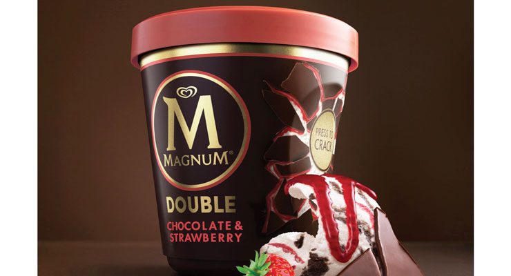 Magnum unveils new, eco-friendly ice cream packaging