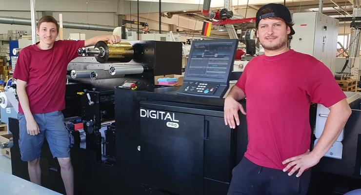 Herzog Etiketten installs Mark Andy Digital Pro 3