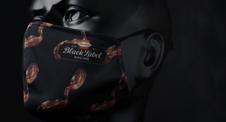 A Bacon-Scented Face Mask