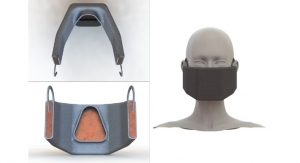 Heated Face Mask Filters and Inactivates Coronaviruses