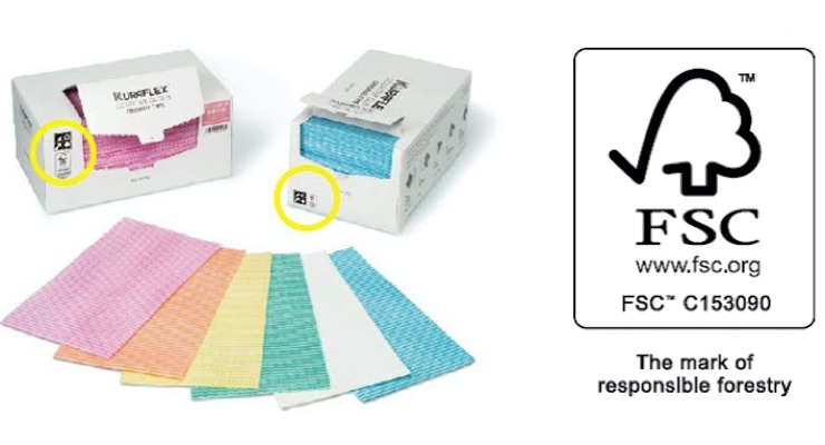 Kuraflex Counter Cloth Earns FSC Certification