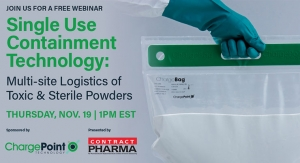Single Use Containment Technology: Multi-site Logistics of Toxic & Sterile Powders