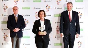 Siegwerk Receives Excellence Award from SOS Children's Villages