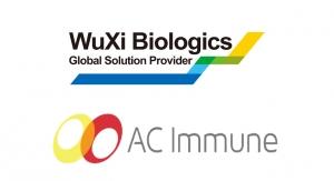 AC Immune and WuXi Biologics Expand Strategic Partnership