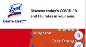 Local COVID-19 Data? Lysol Has an App for That