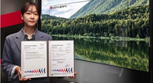 LG Display's OLED TV Panels Certified as Eco-Product by SGS