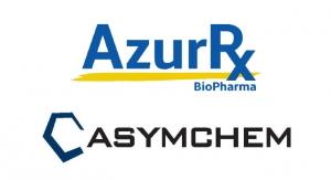 AzurRx BioPharma Partners with Asymchem