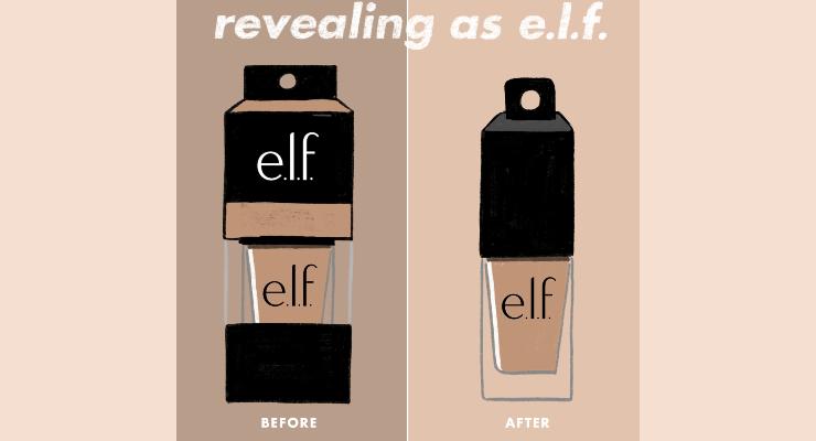 e.l.f. Streamlines Packaging Footprint
