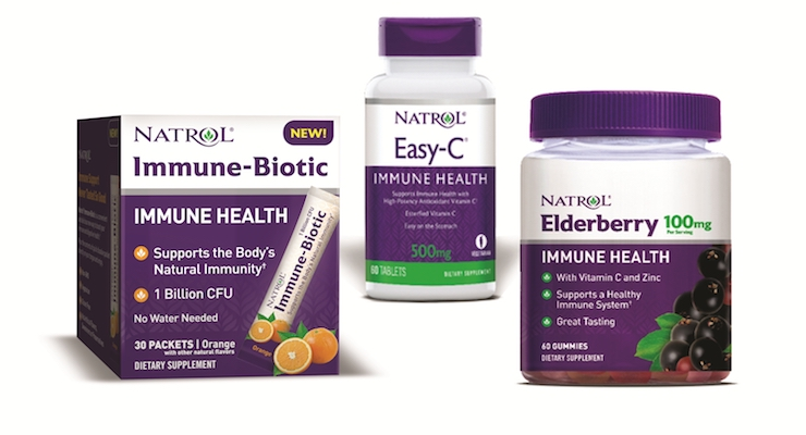 Natrol Debuts Specialty Immune Products to Meet Burgeoning Demand