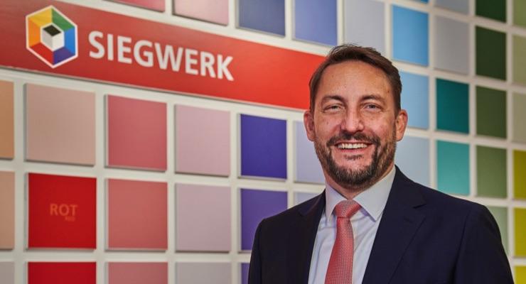 Nicolas Wiedmann appointed next CEO of Siegwerk