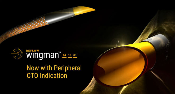 Reflow Medical Receives Japanese Approval for the Wingman CTO Catheter