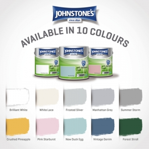 JOHNSTONE'S Brand by PPG Launches Anti-Bacterial Matt Paint