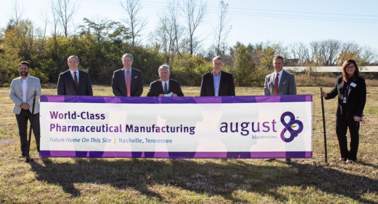 August Bioservices Expands Operations in Nashville