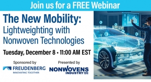 The New Mobility: Lightweighting with Nonwoven Technologies