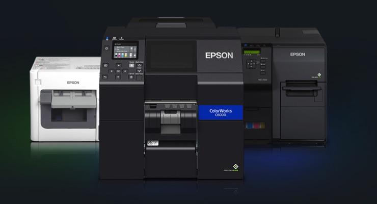 Epson named AIM 2020 Organization of the Year for ColorWorks printers