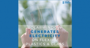 SolarWindow First: Electricity-Generating  Flexible Glass Using High-Speed Manufacturing Process