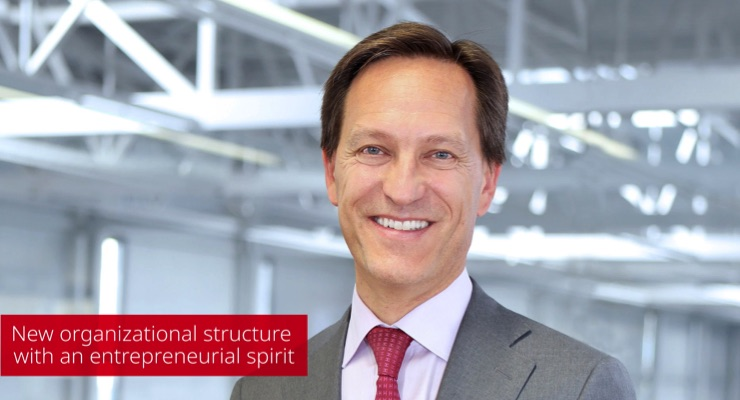 Bobst announces a new organizational structure