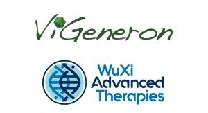 ViGeneron and WuXi Advanced Therapies Enter Partnership