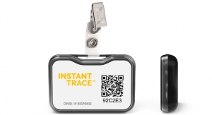 Social Distancing Badge Lights Way to Return to Work