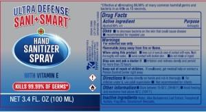 NY Hand Sanitizer Maker Sues Kroger