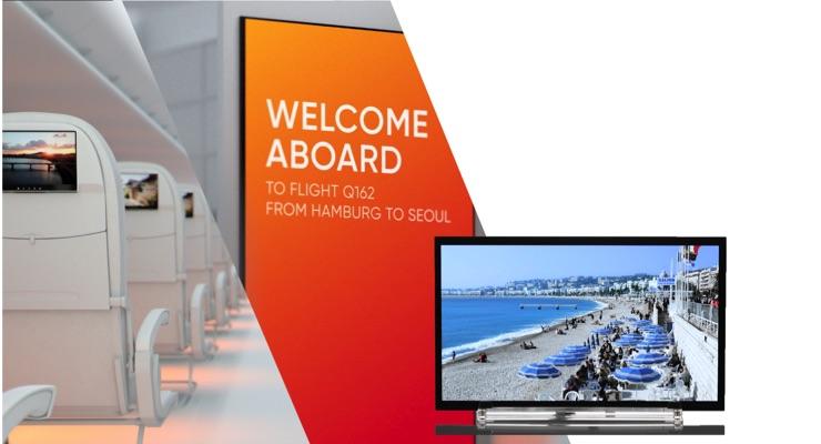 AERQ, JOLED Integrating Medium-sized OLED Displays in Aircraft Cabins