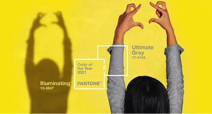 Pantone Reveals Color of the Year for 2021