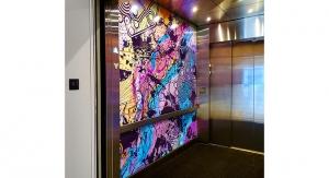 Asheville Art Museum Renovation Includes Roland-Printed Wraps for Elevators