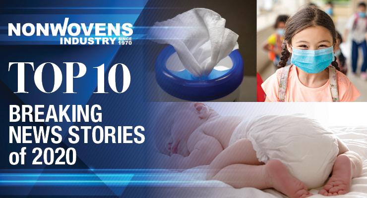 Nonwovens Industry's Top 10 Breaking News Stories of 2020