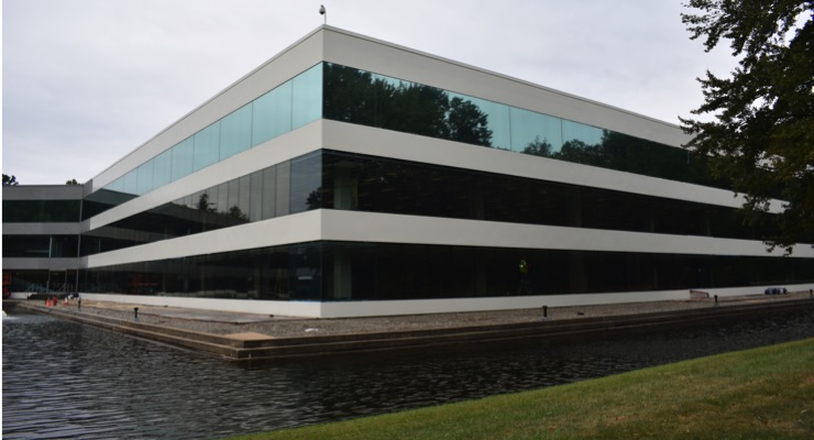 High-Performance Exterior Coatings Protect Biotech Office From 20+ Years of Future Weathering Damage