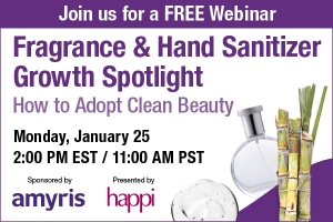 Fragrance & Hand Sanitizer Growth Spotlight: How to Adopt Clean Beauty