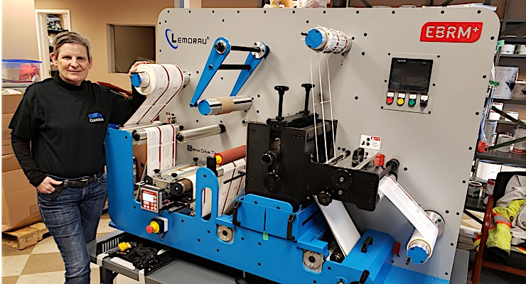 ClearTech Industries turns to Arrow Systems for label finishing