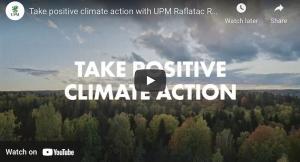Take positive climate action with UPM Raflatac RAFNXT+