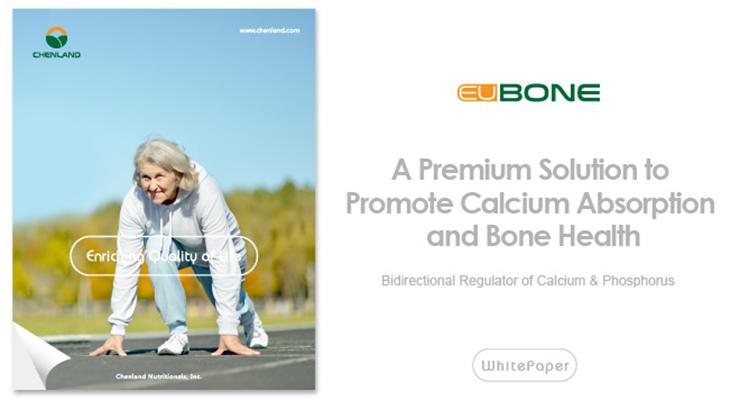 EuBone™: Calcium Absorption and Bone Health Booster