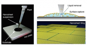 Nanosheet-based Electronics Could Be 1 Drop Away