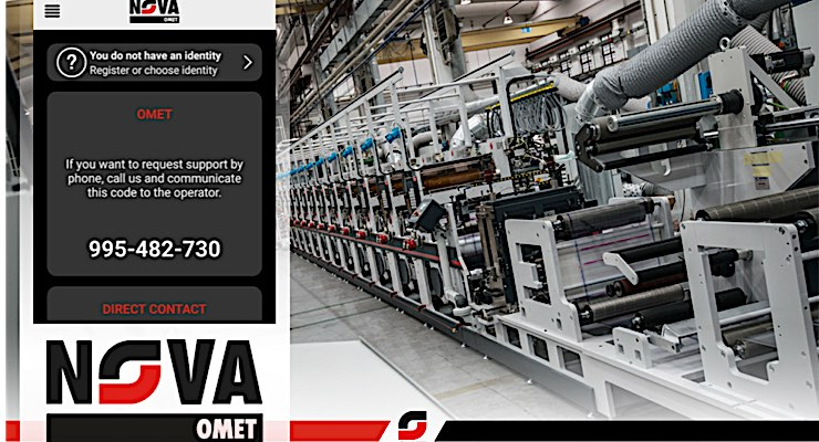 Omet unveils new virtual support app