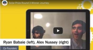 Solar Prize Marks Milestone with Round 3 Winner, Round 4 Semifinalist Announcements