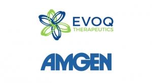 EVOQ Therapeutics and Amgen Partner