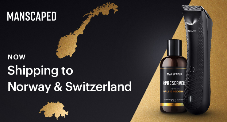 Manscaped Expands Further in Europe