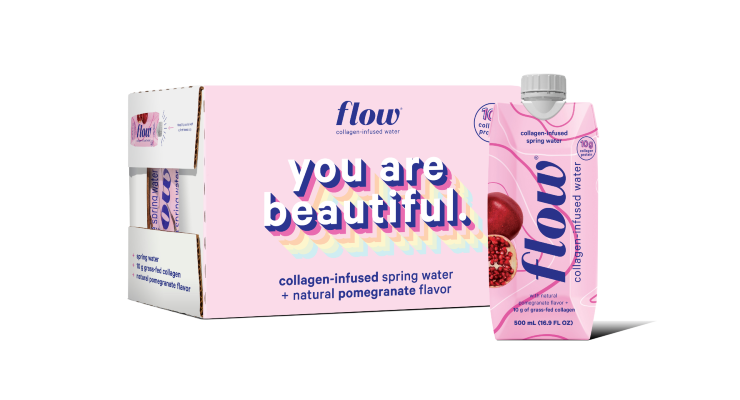 Flow Launches Collagen Waters