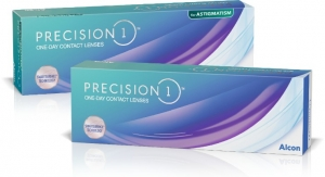 Alcon Releases PRECISION1 for Astigmatism Contact Lenses in U.S.