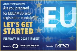 Are you prepared for EUDAMED actor registration module? Let's get started