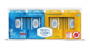 Nice-Pak Receives EPA Approval for Disinfecting Wipes